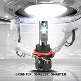 Aone Mini LED Headlight 9004 9007 Hi/Low Beam 30W/5000lm LED Auto Bulb 6500K