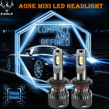 Aone Mini LED Headlight H7 30W/5000lm LED Auto Bulb 6500K