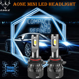 Aone Mini LED Headlight 9012 30W/5000lm LED Auto Bulb 6500K