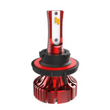 I8 Fanless Mini LED Headlight H13 Hi/Low Beam 20W/4000LM Philips ZES Chips LED Auto Bulb