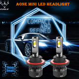 Aone Mini LED Headlight H13 Hi/Low Beam 30W/5000lm LED Auto Bulb 6500K