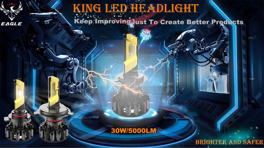 KING 1  LED  Headlight
